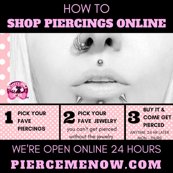 DIFFERENT WAYS TO SHOP PIERCINGS ONLINE