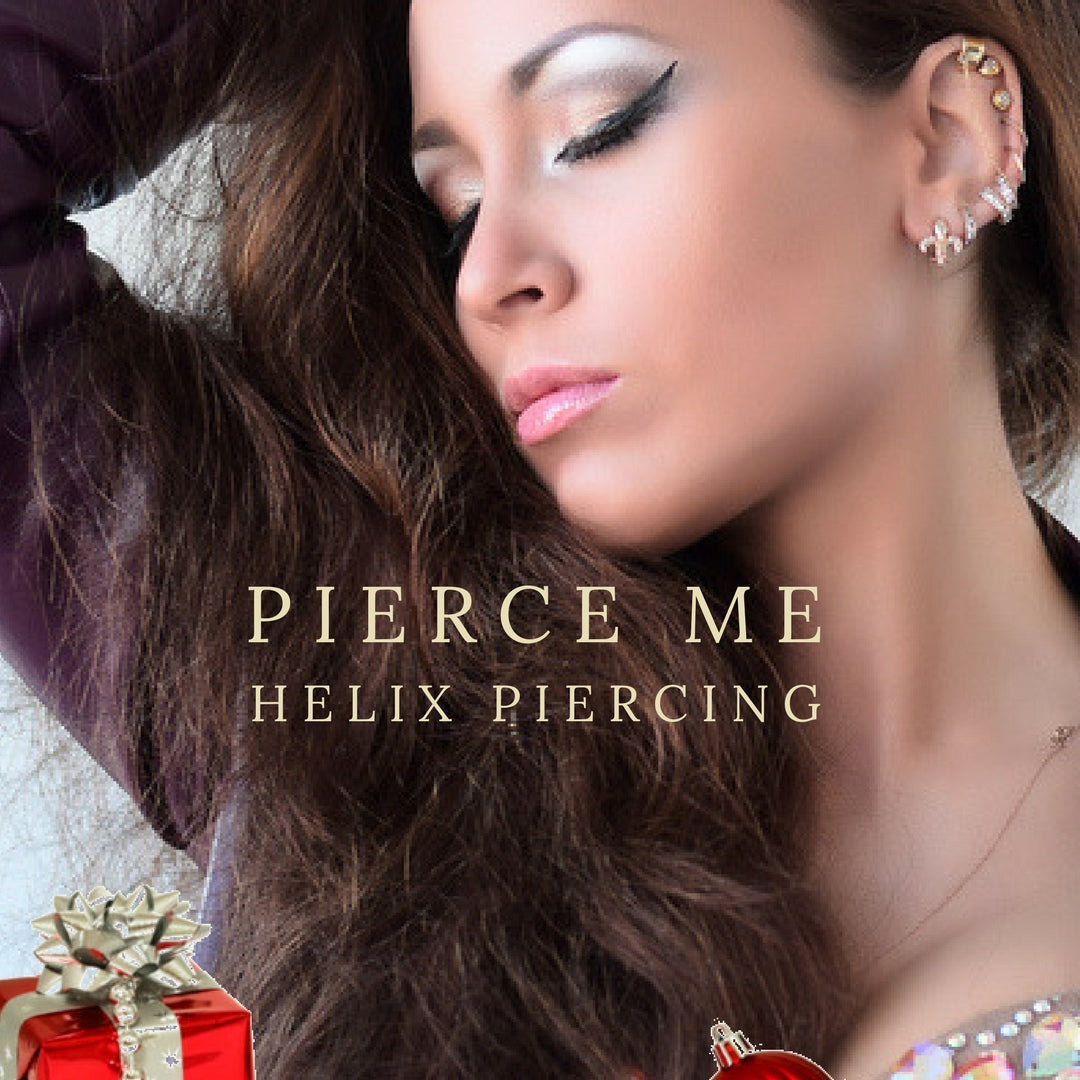 Get your helix piercing online at Pierce Me