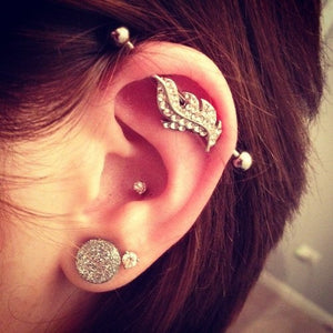 Industrial Barbell Piercing $70 ea. online. Buy Now Get Pierced Later, Body Piercing, Pierce Me Body Piercing Shops
