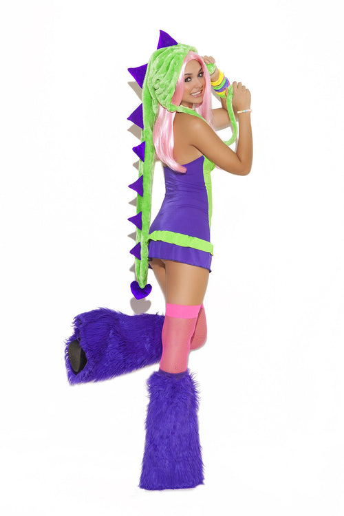 Dino Doll - 2 pc. rave set
