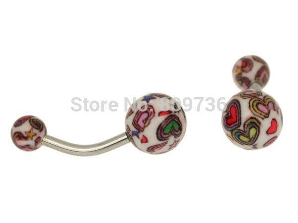 NEW!  7 PIECE PACK....GET 5 MORE FREE PM CANDY belly rings