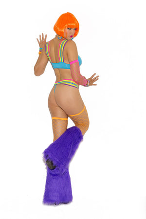 Rave Girl 2 Piece Top & Bottom Sm/Med, Rave, Pierce Me Body Piercing Shops