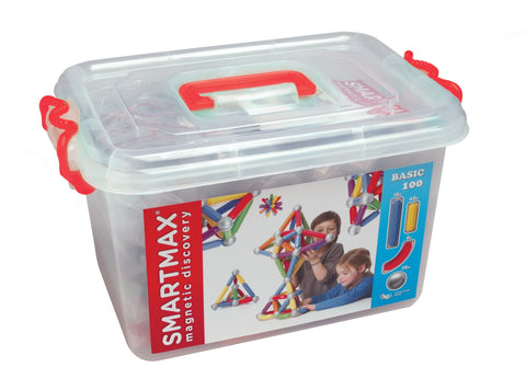 Smartmax 100 piece magnetic construction set