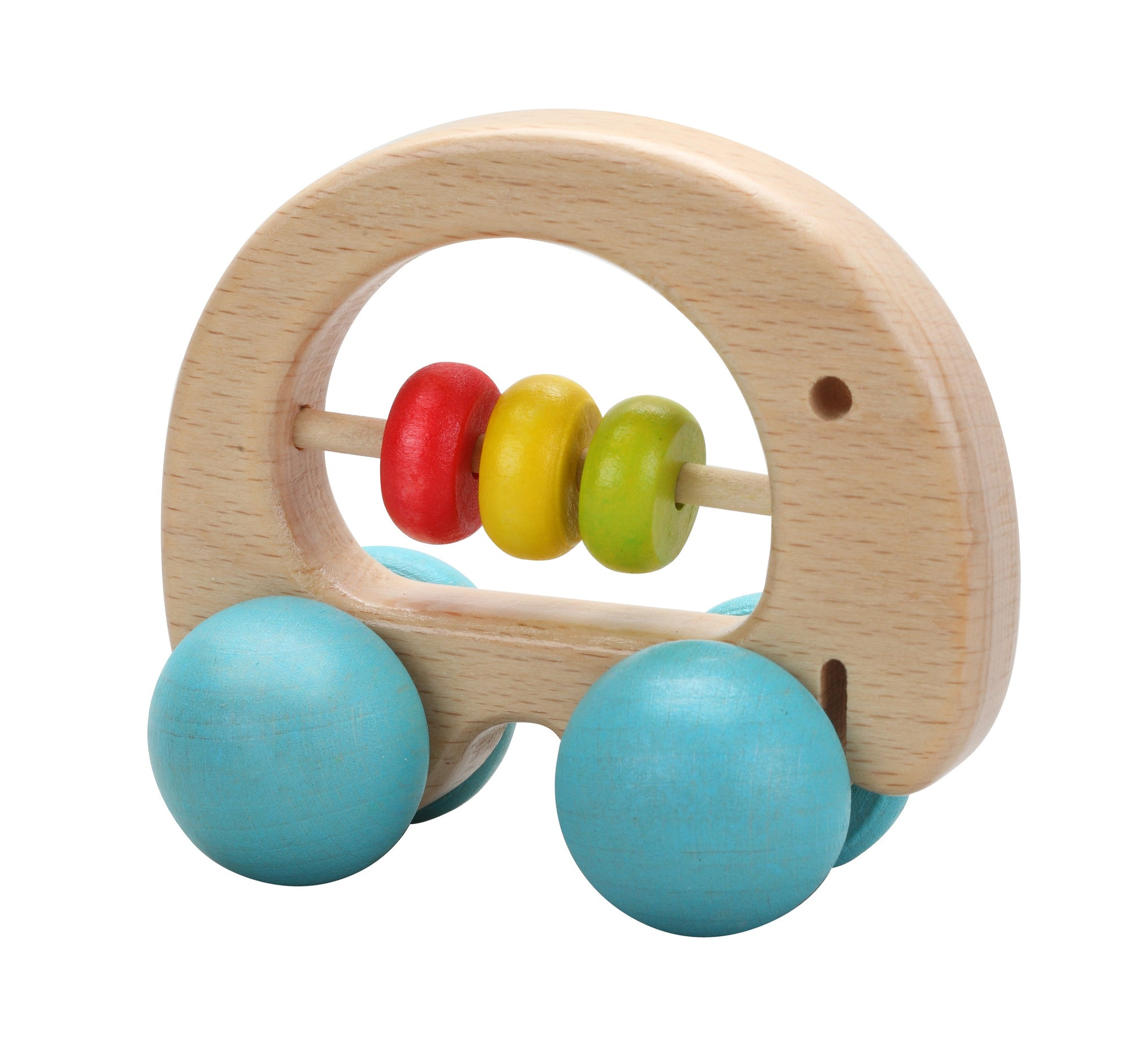 Nursery, Baby, Wooden, Rattle