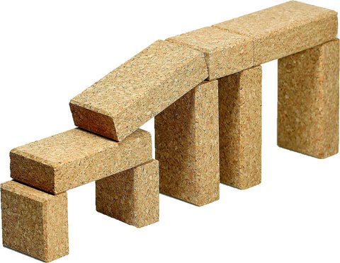 Cork Building Blocks bridge