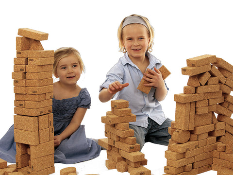 Cork Building Blocks, Construction, Building , Balancing