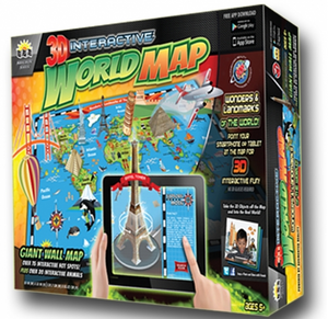 Popar Toys Wonder of the World & Landmarks 3D Chart