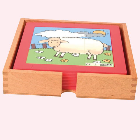 Farm Puzzles -Set of 6