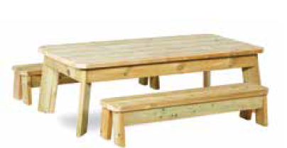 Table and Bench Sets