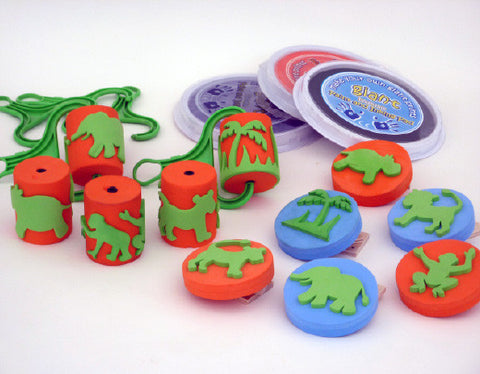 Jungle Printing Set