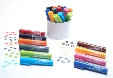 Pens , Stamps , Art , Craft