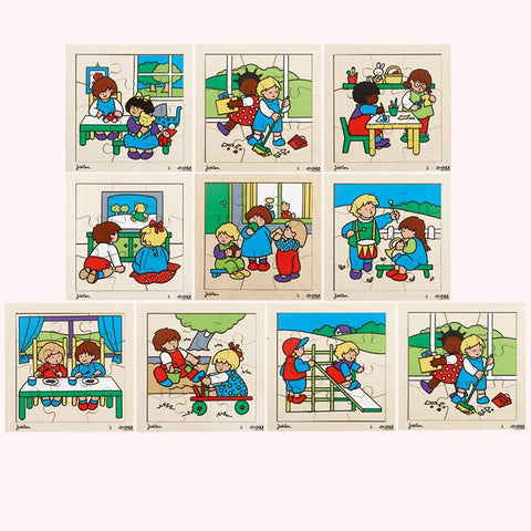 Play Together Puzzles - Set of 10