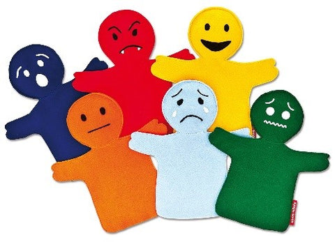 Emotion Puppets - Set of 6