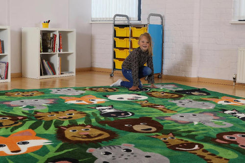 Wild Animals Carpet