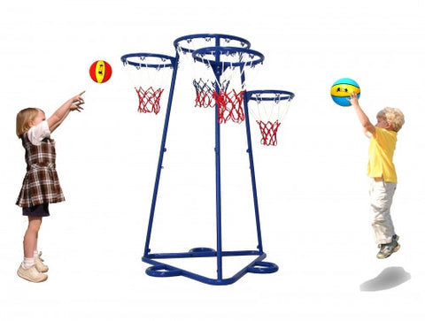 4 Hoop, Basketball Trainer, Outdoor