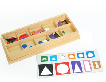Small Wooden Grammar Symbols with Box