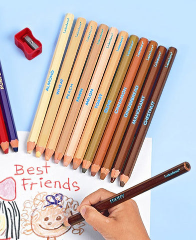 Skin colour jumbo pencils