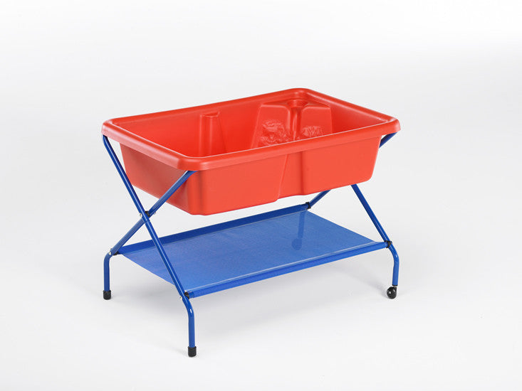 Sand and Water Trays with Folding Frames
