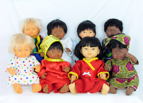 Dolls, Multicultural, Role play