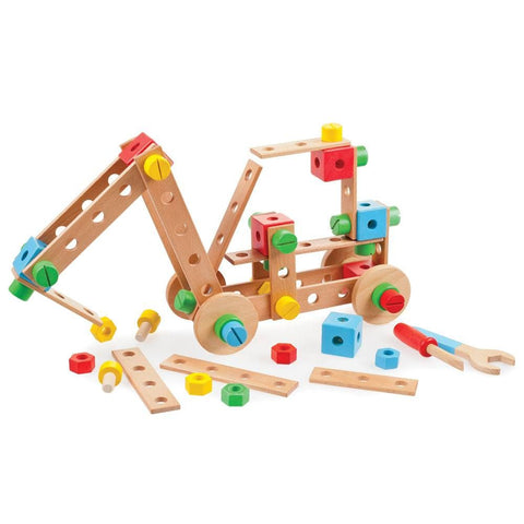 Construction , Wood , Educational toys