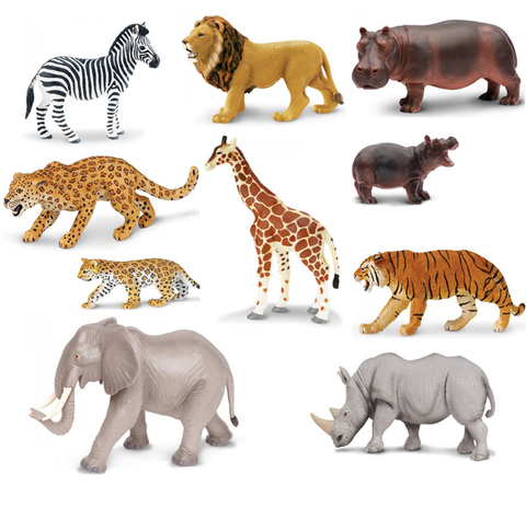 Jungle Animals Pack