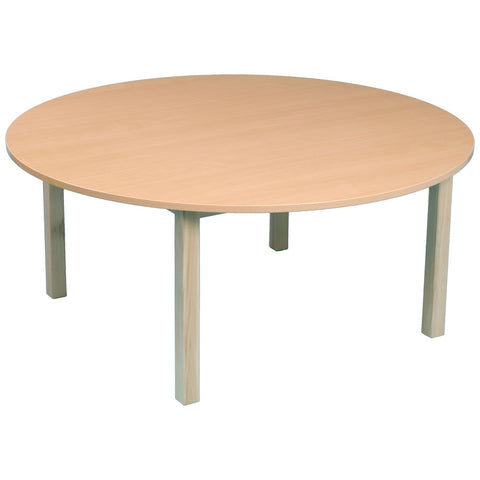 Round Beech Table