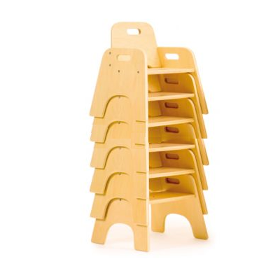 Wobbler Stackable Chairs 6 pack