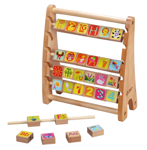 World Alphabet Abacus