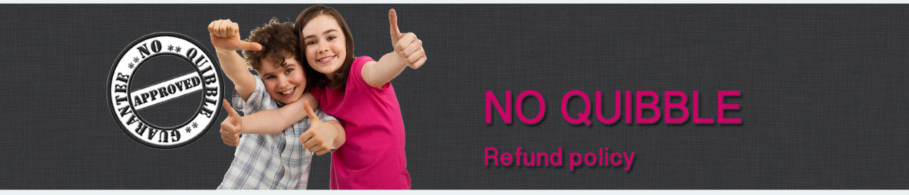 No Quibble Refund