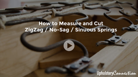 How to Measure and Cut ZigZag Springs