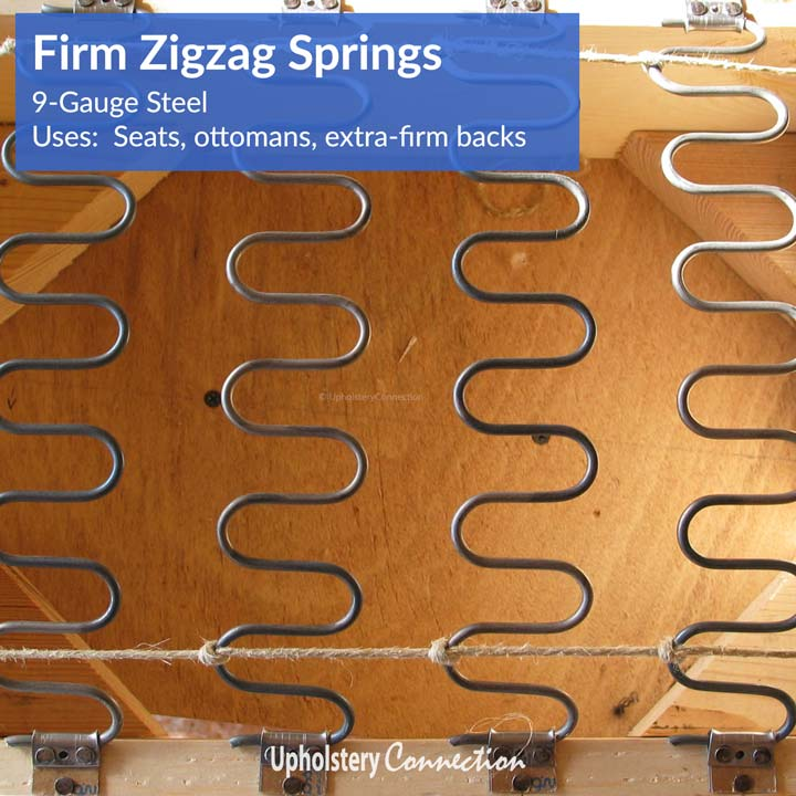 Steel gauge sinuous wire wire center zig zag springs no sag springs sinuous springs no sag clips zig rh upholsteryconnection com wire gauge chart actual size steel wire gauge conversion greentooth Image collections