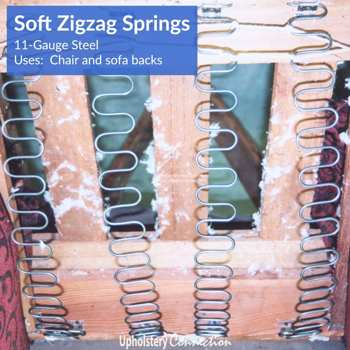 Zigzag / No-Sag Springs and Clips