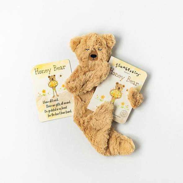 Gratitude Honey Bear Snuggler Bundle