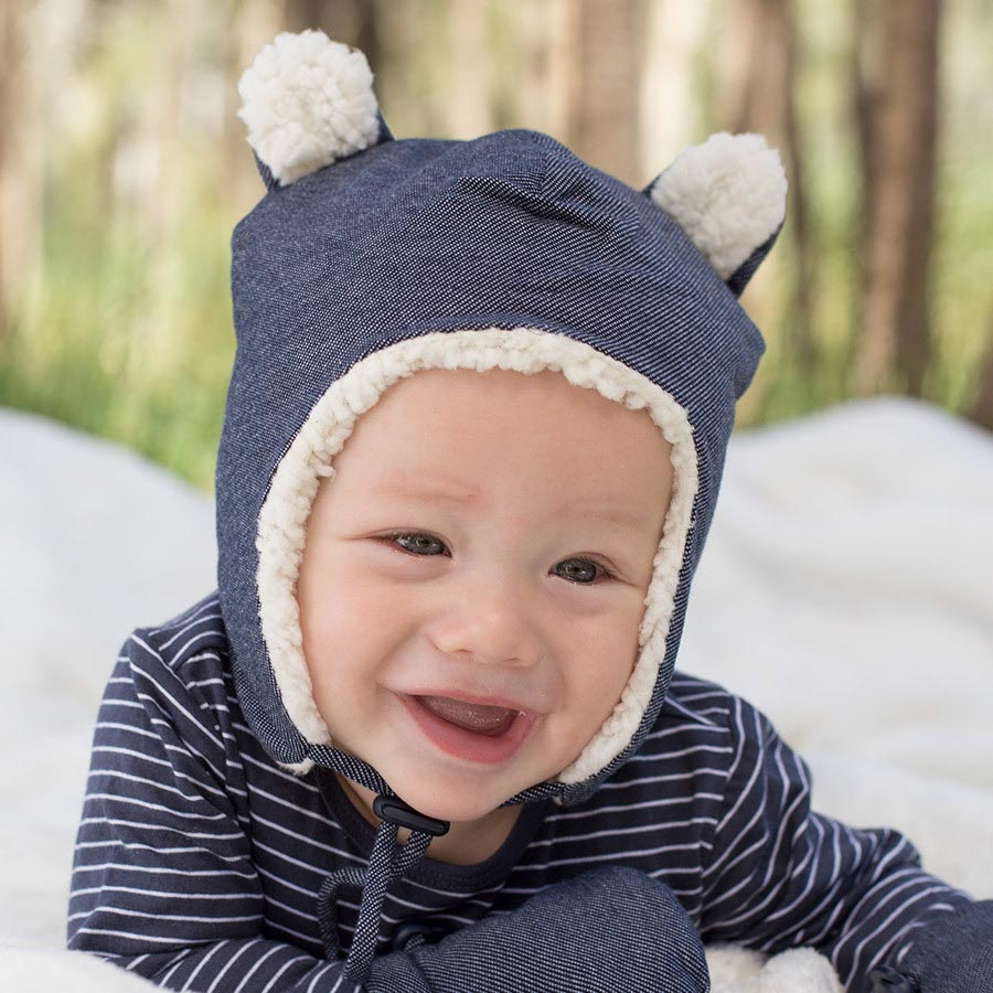 Teddy Fleece Beanie