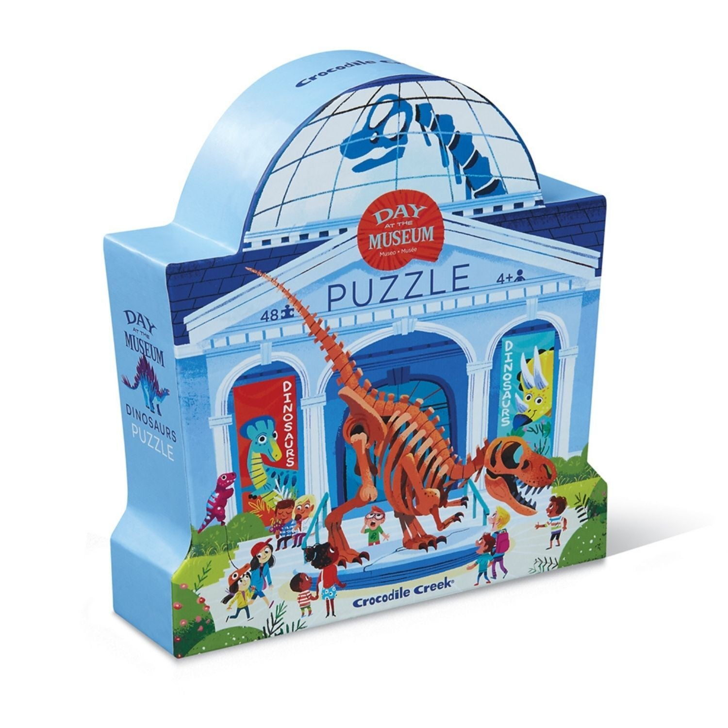 Day at the Museum Puzzle 48pc - Dinosaur