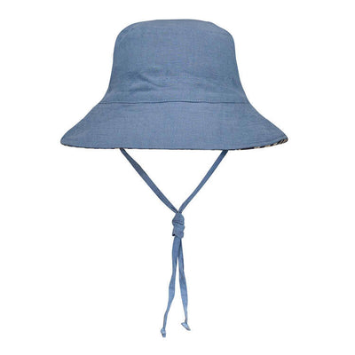 Heritage Reversible Bucket Hat - Crew/Steele