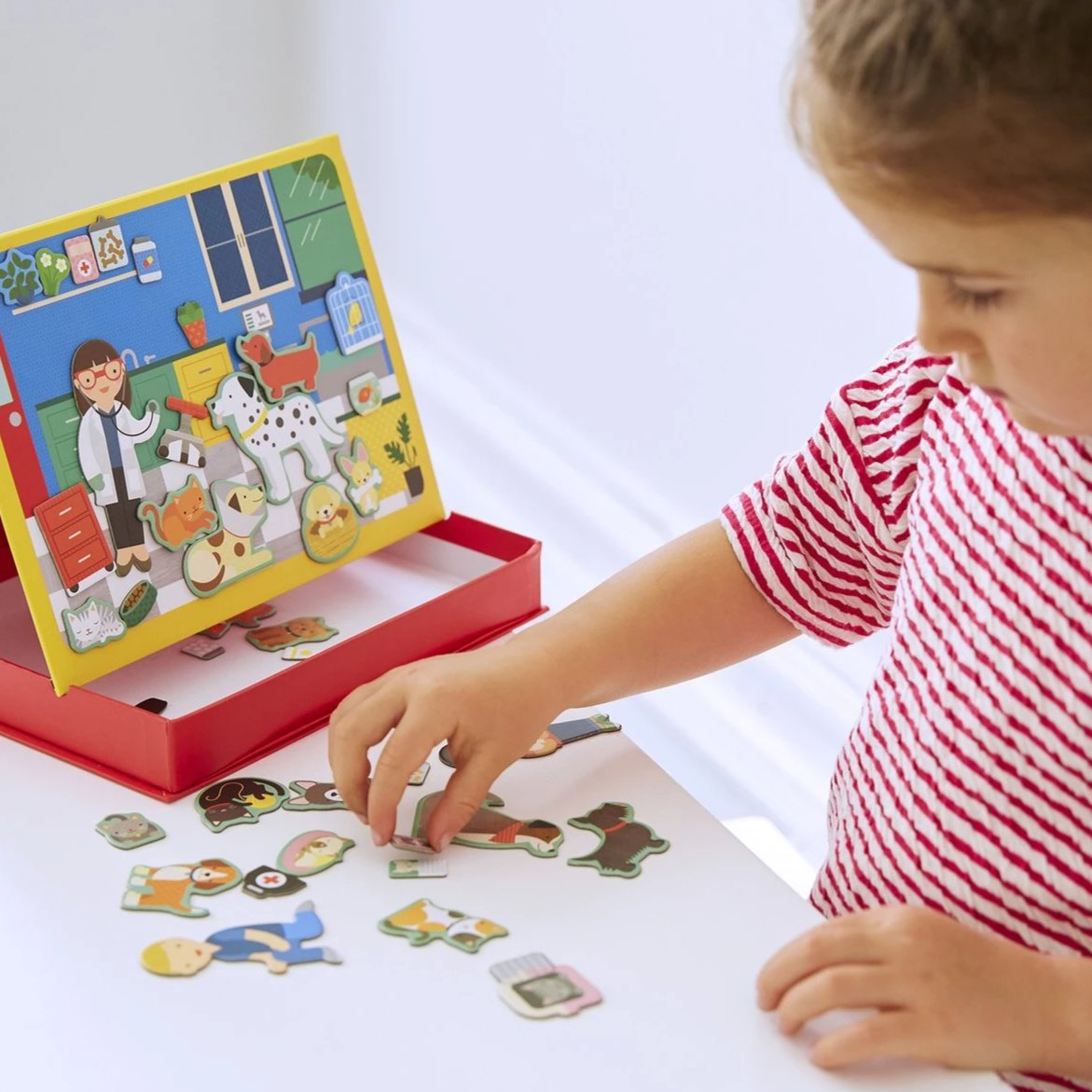 Veterinarian Magnetic Easel