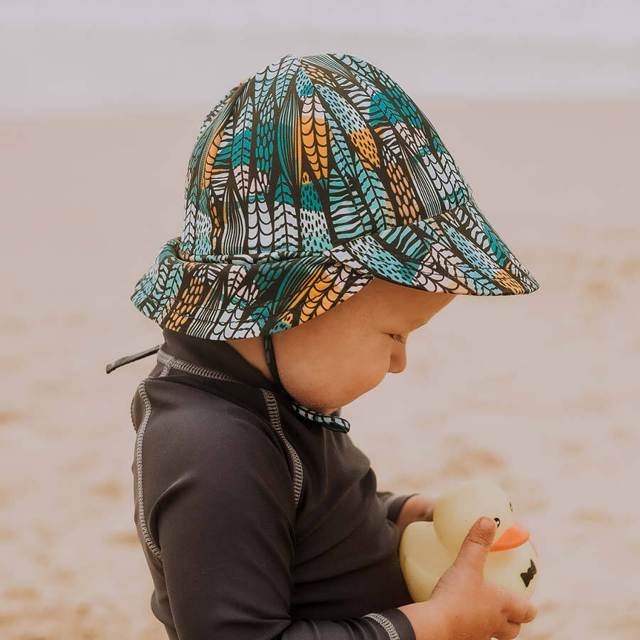 Beach Legionnaire Hat - Surfboard