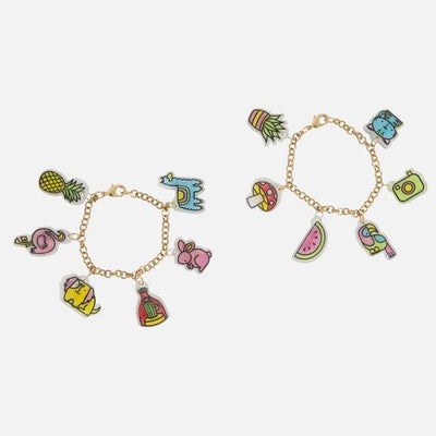 Shrinkies Charm Bracelets