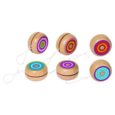 Yo-Yo Colourful Rings