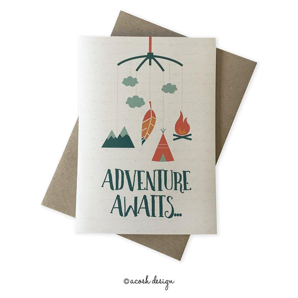 Adventure Awaits - Acosh Design - Hugs For Kids