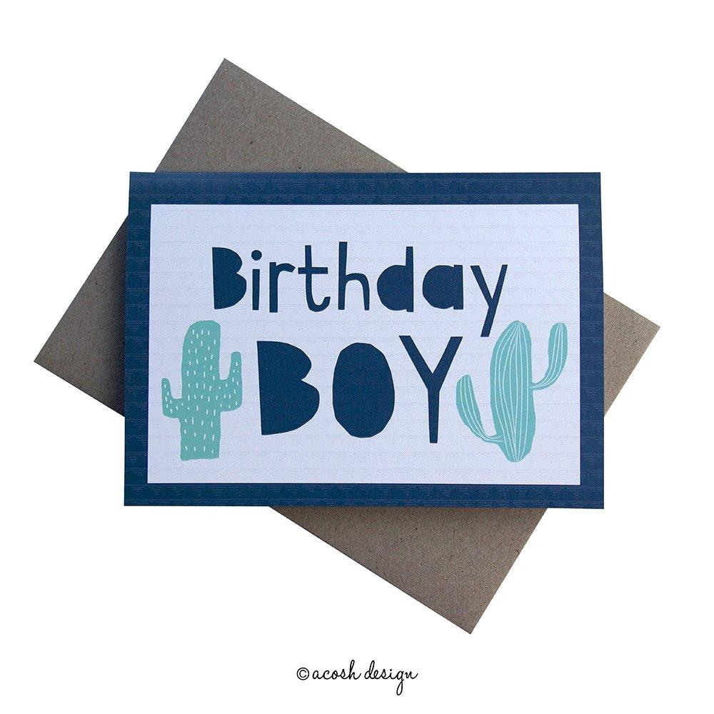 Birthday Cactus - Acosh Design - Hugs For Kids