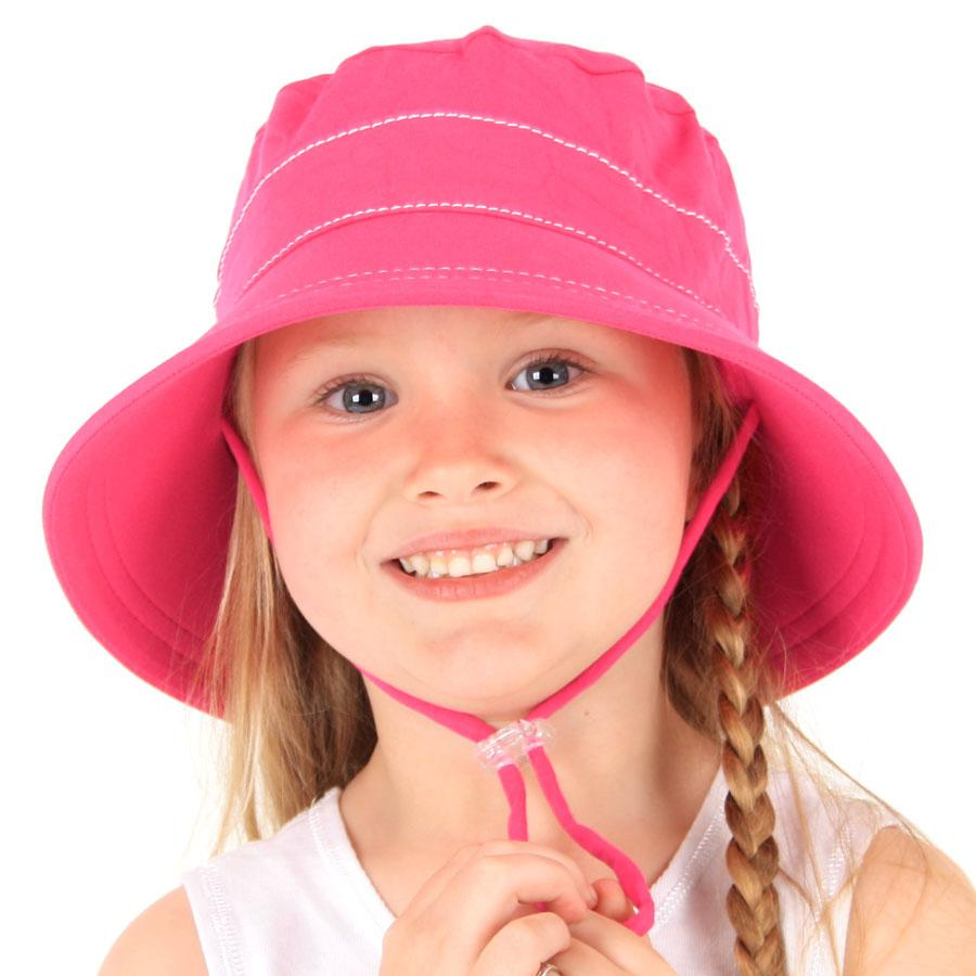 Bright Pink Bucket Hat - Bedhead - Hugs For Kids