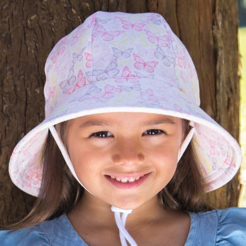 Butterfly Ponytail Bucket Hat - Bedhead - Hugs For Kids