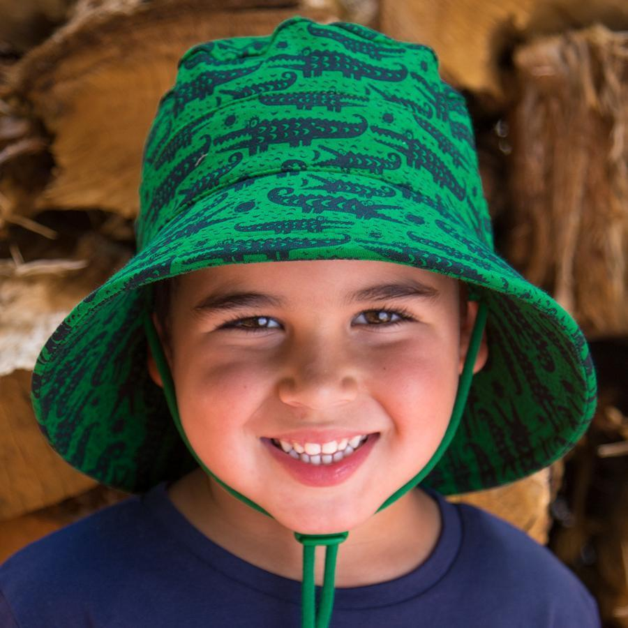 Crocodile Bucket Hat - Bedhead - Hugs For Kids