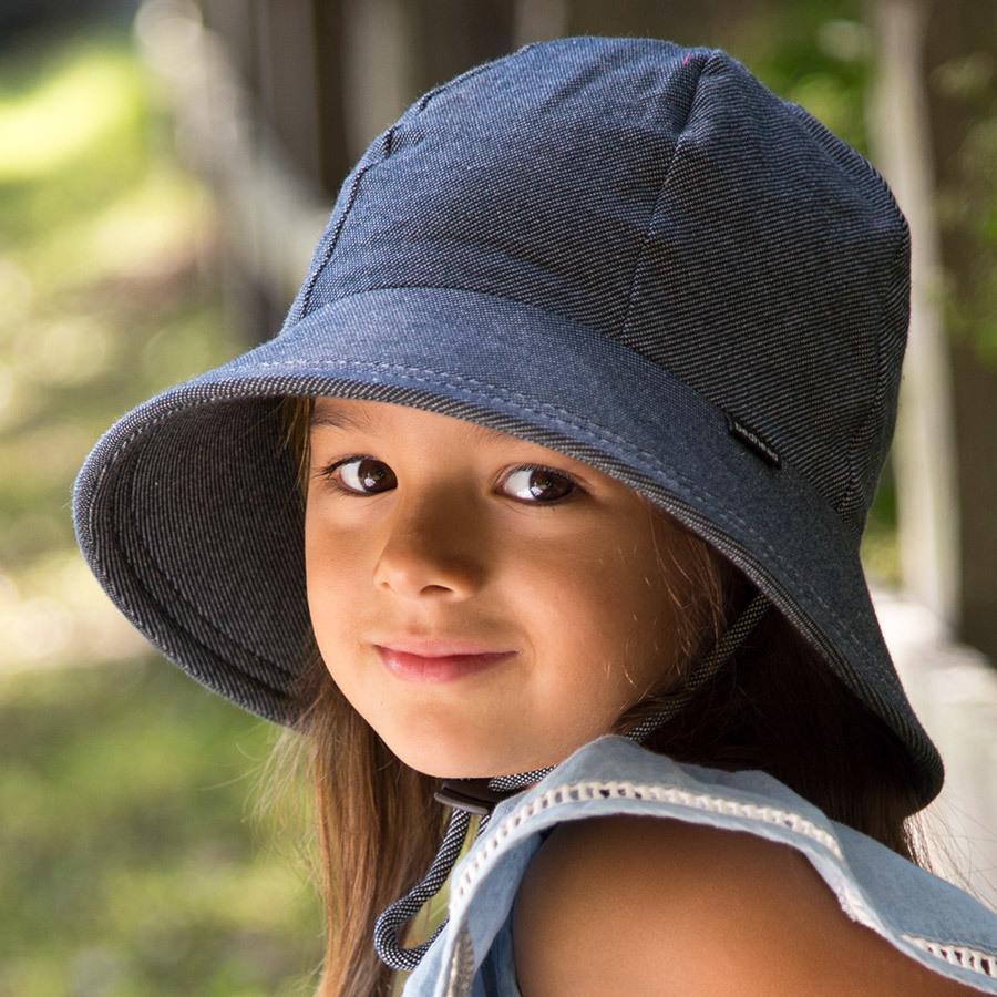 Denim Bucket Hat - Bedhead - Hugs For Kids