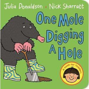 One Mole Digging A Hole - Books - Hugs For Kids