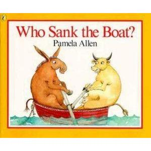Who Sank The Boat - Books - Hugs For Kids