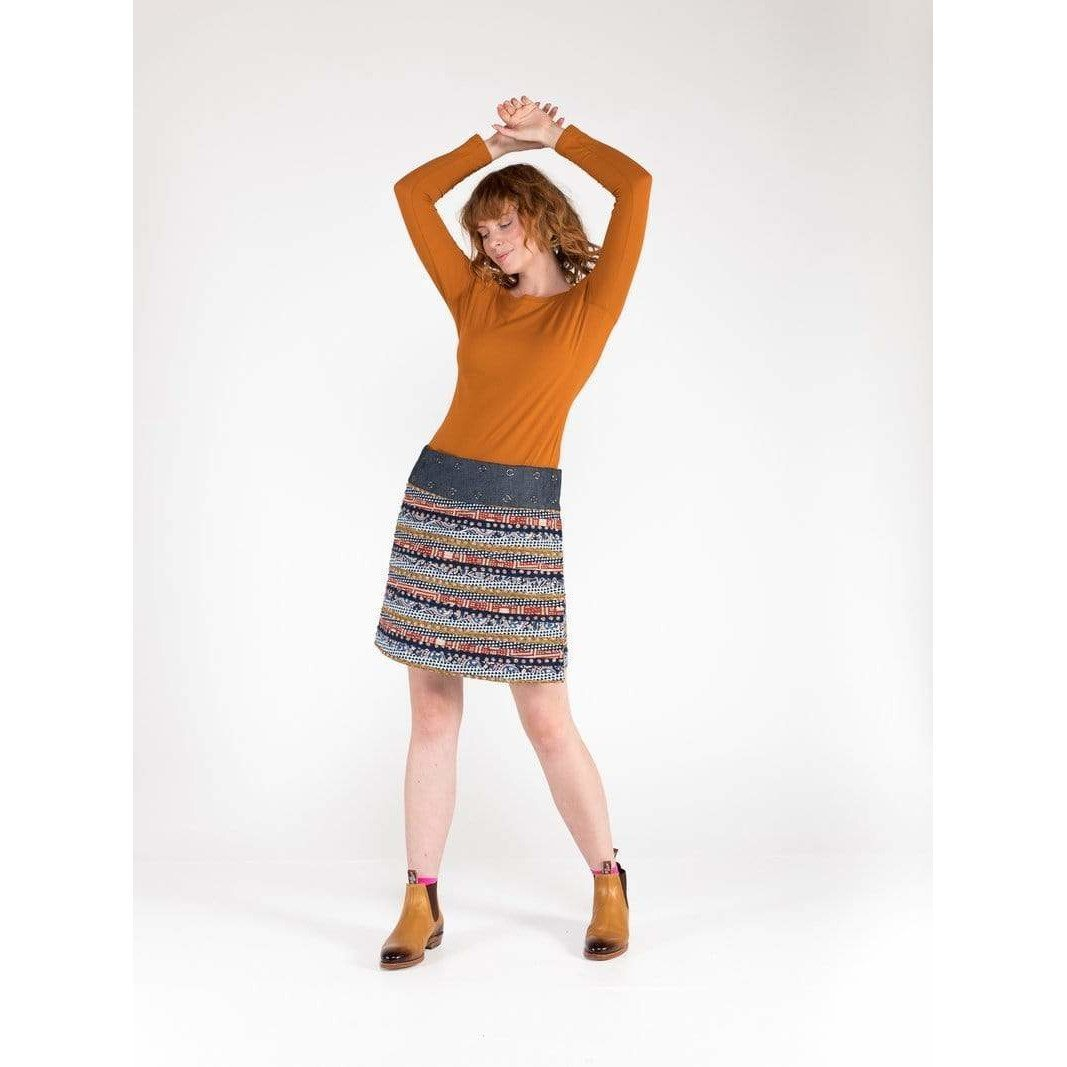 Adults Heartland Apatchy Skirt