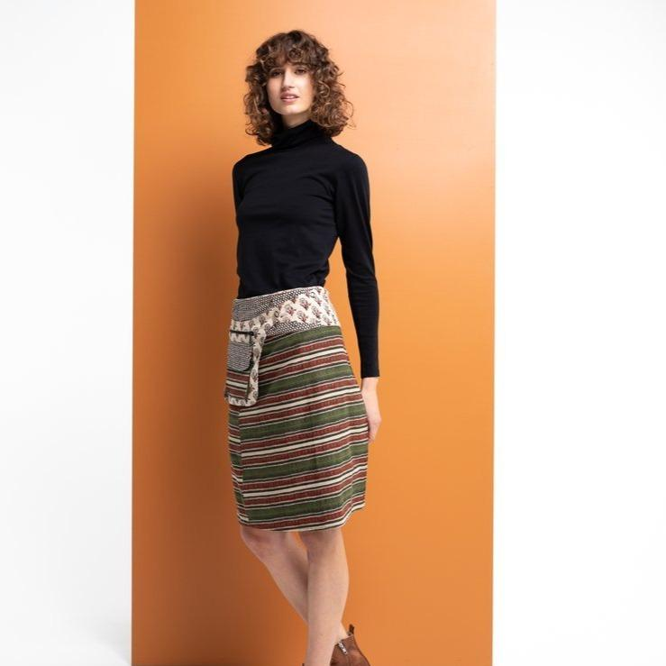 Adults Jaipur Stripe Rosanna Skirt